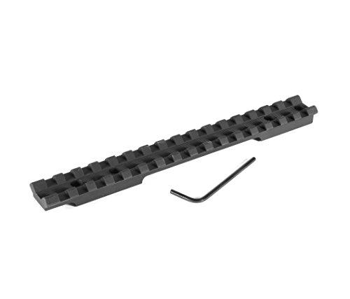 Evolution Gun Works Savage Round Back Short Action Picatinny Rail Scope Mount 0 MOA Ambidextrous (41000)