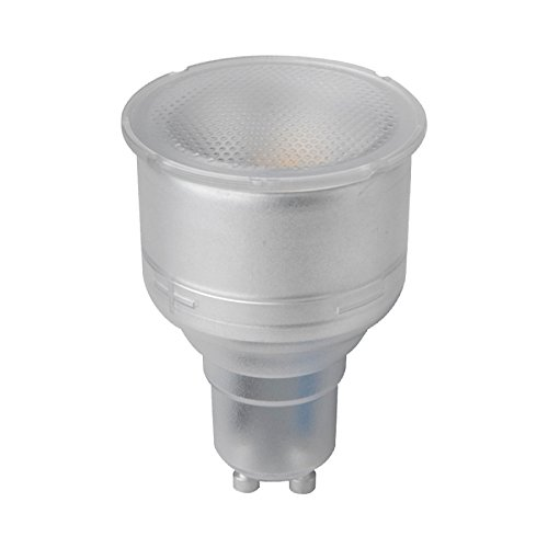 Megaman GU10 Reflector De Cuello Largo De 74 Mm Regulable 5 Vatios, 330 Lúmenes, Lámpara LED De Temperatura De Color 2800K, Blanco Cálido