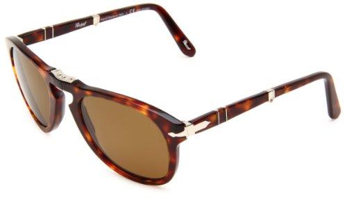 Persol PO0714 Havana/ Polarized Brown Size 52mm Sunglasses