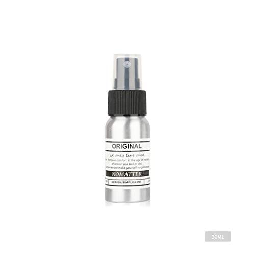 30 ml Aluminium Sprühflasche tragbarer Zerstäuber kann in Kosmetika, ätherischen Ölen, Aromatherapie, Haargel usw. verwendet Werden.