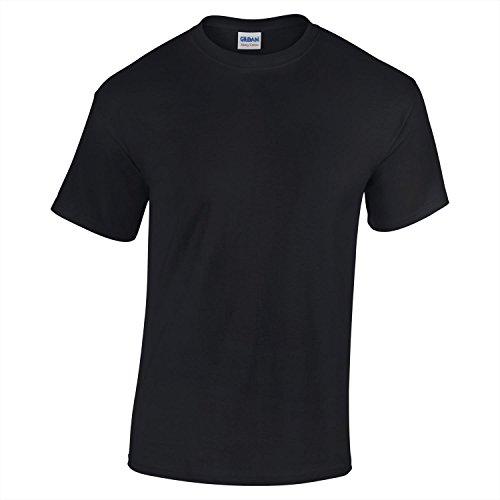 Gildan Heavy Cotton Youth Tshirt - Black - XS