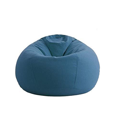 NBVCX Mobiliario Decoración Bean Bag Kids Hi Rest Chair Pequeño Interior Exterior BeanBags (Resistente al Agua y a la Intemperie) Gamer Sillón (Color: Blanco)