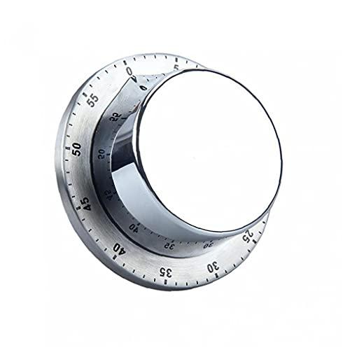 Temporizador de cocción, Temporizador de cocina 60 minutos Tiempo fuerte Alarma Aparción de la cuenta regresiva magnética ()