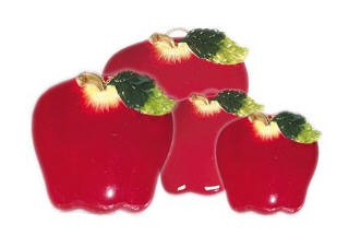 Online apple country kitchen fruit fruity home decor stove burner covers ceramic stovetop top - Apple kitchen decor cheap ...