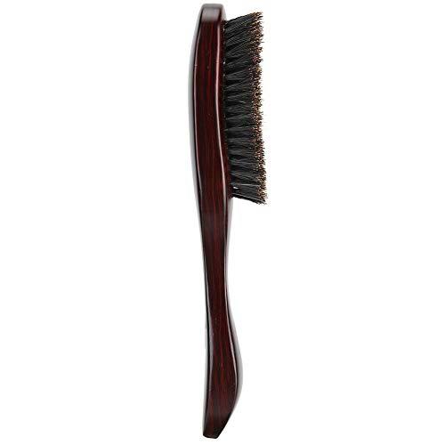 【-】 Lange steel borstel baard styling borstel, snor borstel baard zorg borstel, baard zorg borstel professionele kapper salon gebruik