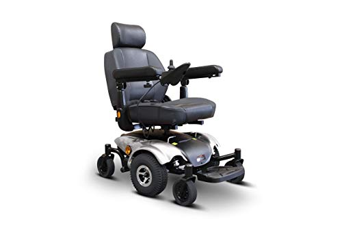 Best Price EWheels Medical EW-M48 Travel Mobility Power Electric Wheelchair Silver