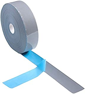 Elastic Silver Reflective Tape Iron On Fabric Heat Transfer Vinyl Film DIY (10mm x 20m)