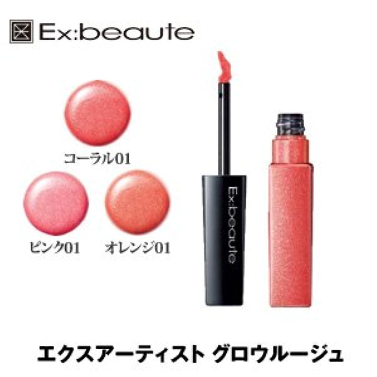 ナサニエル区家表現Ex:beaute (エクスボーテ) エクスアーティスト グロウルージュ