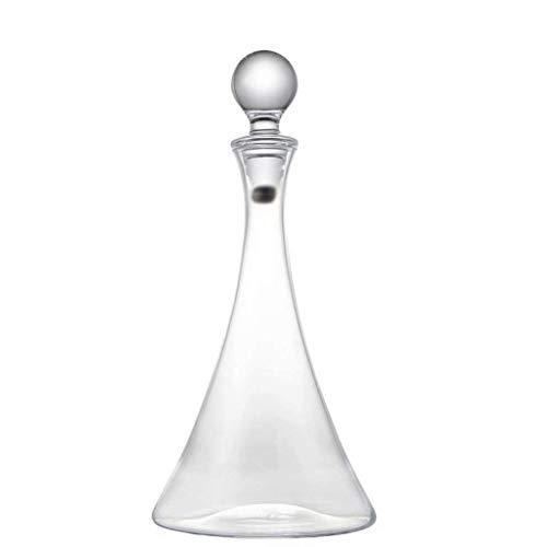 WLA Decantador de Vino Decantador de Cristal de Cristal Decantador rápido Botella de Vino de Vino 1L