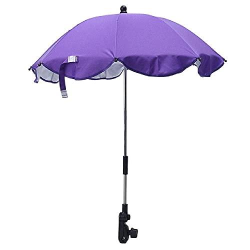 Cochecito de bebé para bebé, cochecito, paraguas, parasol, cubierta de dosel, parasol ajustable, adecuado para muchos tipos de cochecito