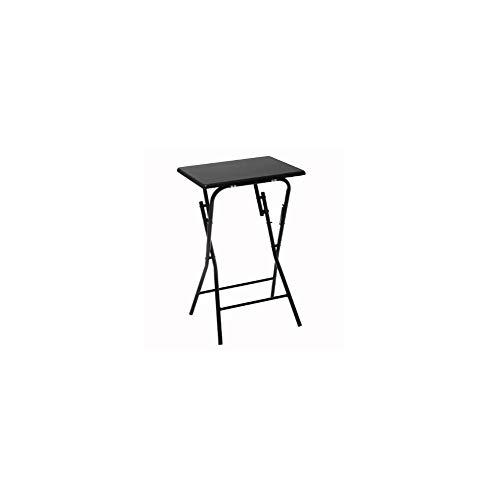 Five - Table dappoint Pliante Noire en Bois et Métal H 64 cm