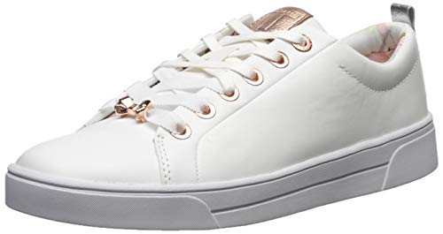 Ted Baker womens Kellei Sneaker, White Leather, 11 US