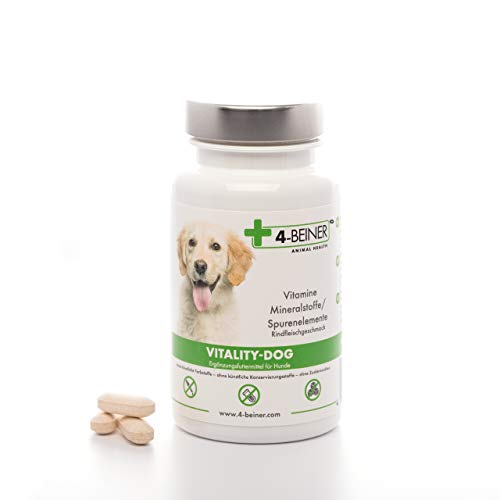4-BEINER VITALITY-DOG: vitamines pour chiens &...