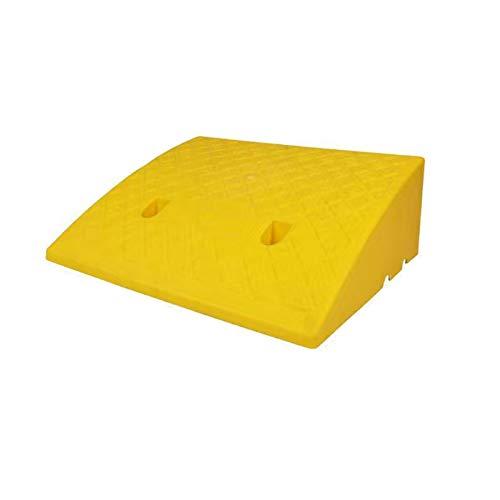 Rampee Per Corniciature In Plastica Rampee Di Mobilità Portatile Rampee Di Soglia Di Soglia Della Sedia A Rotelle Rampee Rampee Rampee Applicare Al Piccolo Veicolo, Mobil(Size:50*40*17CM,Color:Yellow)
