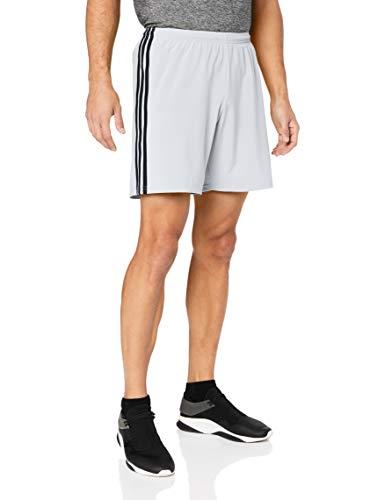 adidas Condivo 18, Pantaloncini Uomo, Grigio (Clear Grey/Black), L