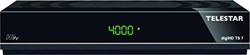 Preisvergleich Produktbild Telestar 5310492 digiHD TS 7 HDTV-Satelliten Receiver (HDMI,  SCART,  USB,  PVR Ready,  Audio optisch,  LAN) schwarz