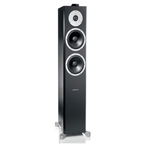 Dynaudio XEO 6Schwarz Lautsprecher–Lautsprecher (Lautsprecher, 1.0Kanäle, Boden, integriert, 31–23.000Hz, schwarz)