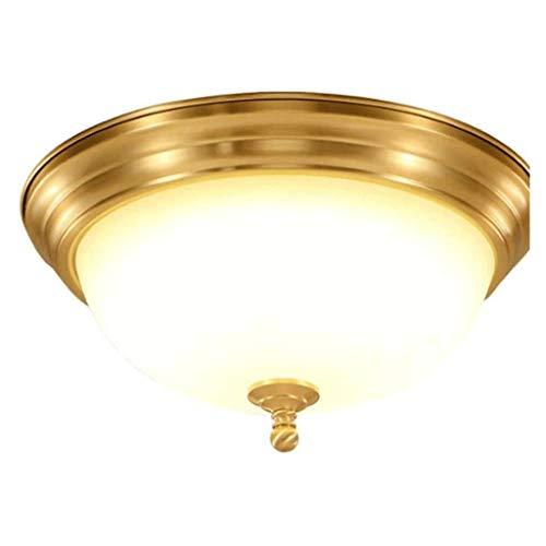 SPNEC American Style Alta Temperatura del Vidrio Esmerilado de la lámpara de Techo, Habitación Sala Estudio de iluminación de la decoración