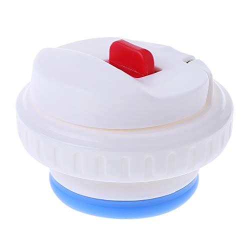 Lfdhcn tapón de 7,5 cm para Termo, Termo, Tapa de Botella, Tapa de vacío, Tapa de Termo, Accesorios para termos de Acero Inoxidable para Viajes al Aire Libre