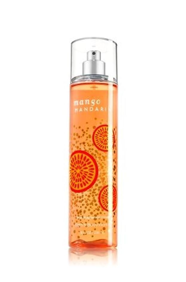 急速な部分的に可能性【Bath&Body Works/バス&ボディワークス】 ファインフレグランスミスト マンゴーマンダリン Fine Fragrance Mist Mango Mandarin 8oz (236ml) [並行輸入品]
