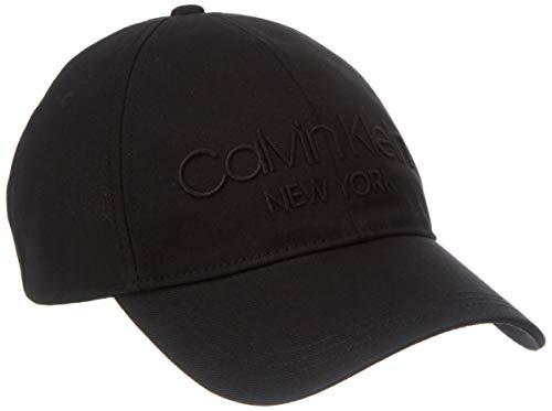 Calvin Klein Herren Ny Bb Baseball Cap, Schwarz (Ck Black BAX), One Size (Herstellergröße: OS)
