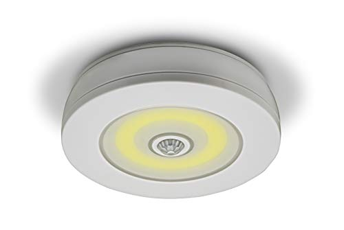 Sensor Brite Overlite Wireless Motion-Activated Ceiling/Wall LED Light, Stick Anywhere, Battery-Operated Overhead Light