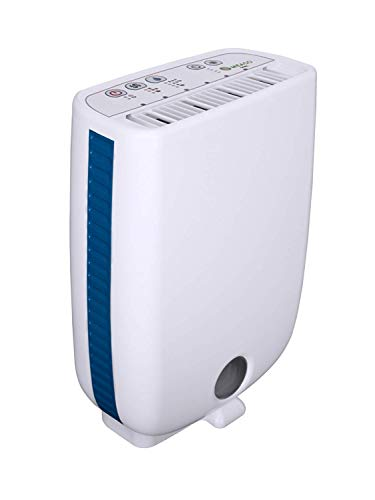 Meaco Portable Compact Dehumidifier DD8L, EXCLUSIVE 3 YEAR WARRANTY backed (normally 2 years) Devola Led Keyring.
