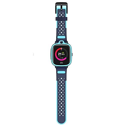 FVIWSJ Reloj Inteligente con Esfera Personalizada,Relojes Inteligentes Mujer,Pantalla Táctil Resistente Agua, Rastreador Actividad Deportiva,Contador Calorías,para iOS,Android,Azul