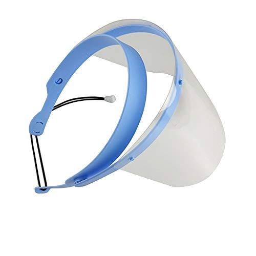 zroven Visiera dentale professionale per protettore dentale staccabile 1 telaio con 10 pellicole per visore Anti-nebbia antiappannamento