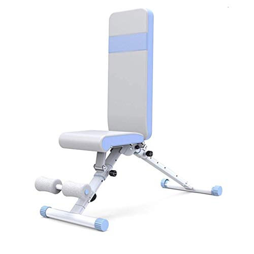 XIAOHUANG Adjustable Bench Nutzmasse Bank for Full Body Workout- Multi-Purpose Faltbare Bank mit bequemen Breathable Kissen