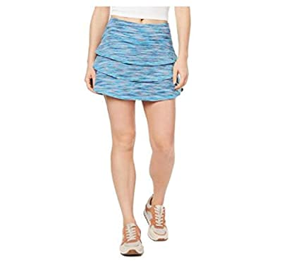 Ideology Coastal Tiered Tennis Skirt,Coastal Aqua S