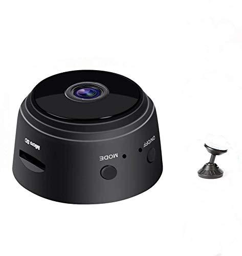 ERWEY Mini Kamera, WiFi Wireless-Kamera, Ultrakompakte Netzwerk Kamera Wireless IP Kamera Full HD 1080P mit Bewegungserkennung Nachtsicht, Mini WLAN Überwachungskamera für iPhone/Android/iPad/PC