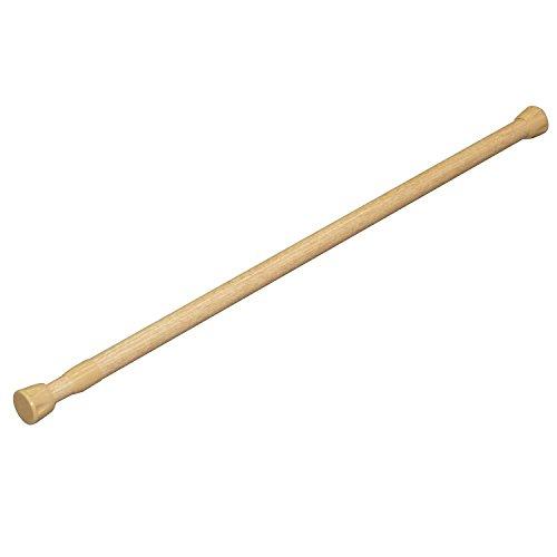 平安伸銅工業 突っ張り棒 強力タイプ 木目 耐荷重15~10kg 幅70~110cm パイプ直径2.2・1.9cm NSM-10