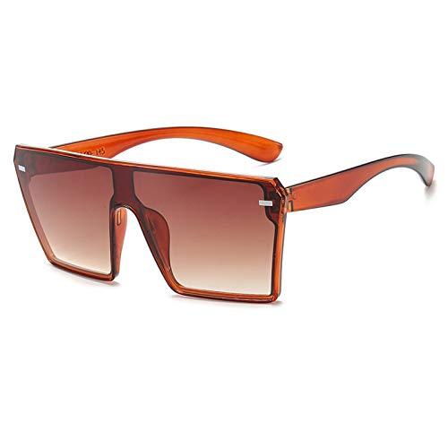 N\P Gafas de sol cuadradas de una pieza con montura grande Gafas de sol deportivas Gafas de esquí