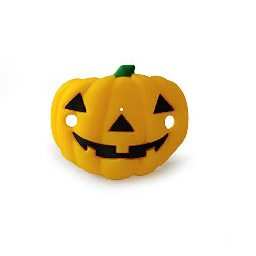 Ocamo Halloween Schnuller,Geist-Festival-Kürbis-mütterliche Kinderprodukte Kürbis