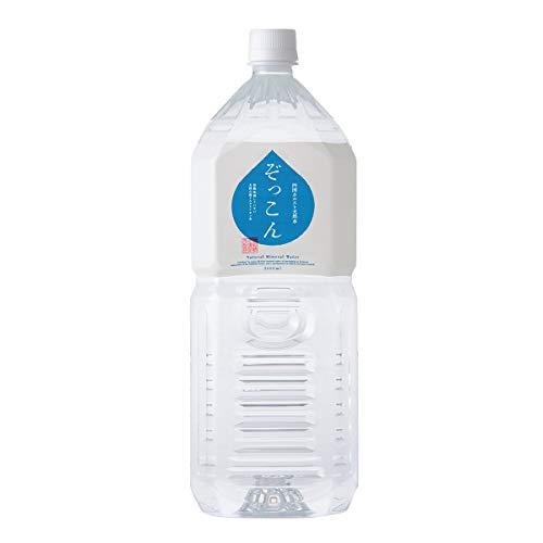 ぞっこん四国 四国カルスト天然水 ぞっこん 2L 2ケース 2L×12 水 2リットル 天然水 2l