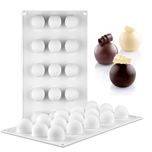 Forma di Pallina Rotonda Stampo in silicone per Torte - Privo di BPA - Antiaderente Silicone stampi per Ciambelloni Tortiera/Pasticceria/Sapone/Budino/Cioccolato #7
