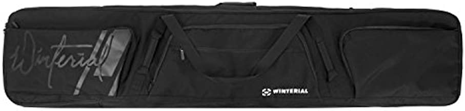 Winterial Rolling Double Snowboard Bag 2019 Snowboard Bag with Wheels, Fits 2 Boards/Double Layered Water Resistant Perfect for Road Trips and Air Travel (64 x 11.5 inch, 162.5 x 29cm)