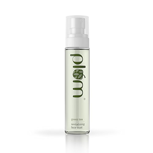 Plum Green Tea Revitalizing Face Mist, 3.38 Fluid Ounce l For Oily & Acne Prone Skin l Vegan Skin Care l Cool & Refreshing l Combats Acne & Blemishes