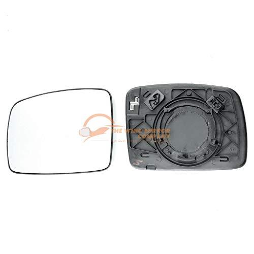 Links Fahrerseite Asph/ärish Spiegelglas mit Platte und Heizung #AM-VNTG02-LWAH