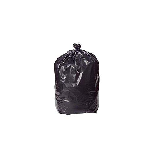 Sac Poubelle Noir Haute Résistance - 100 Litres/paquet de 200 sacs