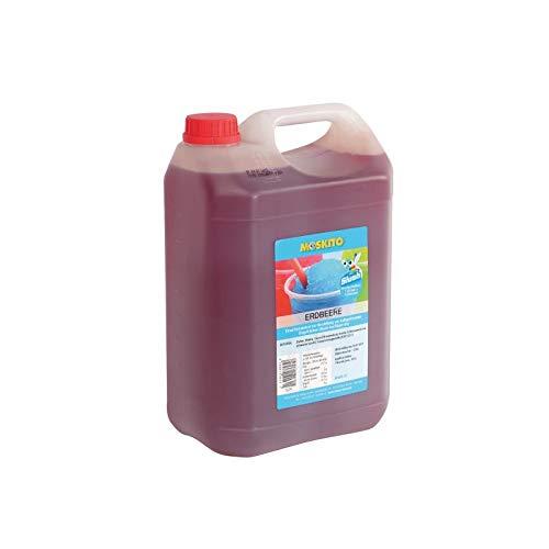 Sirup Slush Konzentrat Slush Ice / Slush AZO FREI Eis Erdbeere 5 Liter Ergibt 30 Liter Slush