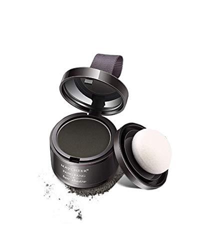 Shadow Powder Hair Line Cover Up Powder Magical, Esponjoso, Fino, en Polvo para el Cabello, Maquillaje, mascarilla para el Cabello, Corrector,Cobertura instantánea para Cabello instantáneo, 4g (Gray)