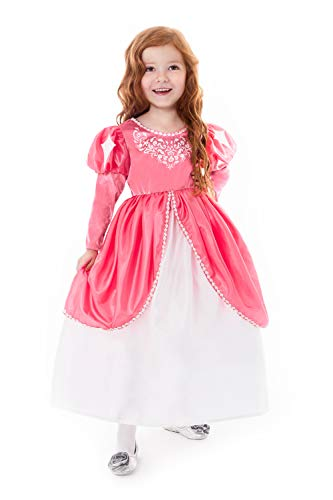 Little Adventures Mermaid Ball Gown Princess Dress Up Costume for Girls (Medium Age 3-5)