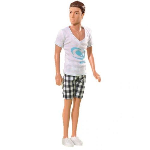 Simba Steffi Love Kevin Relax sportlich männliche Ankleidepuppe OVP, Farbe:Weiß