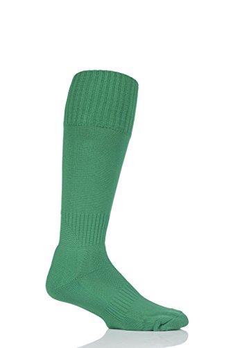 SockShop of London Herren 1 Paar Gemacht in Großbritannien Fußballsocken - Smaragd 40-45