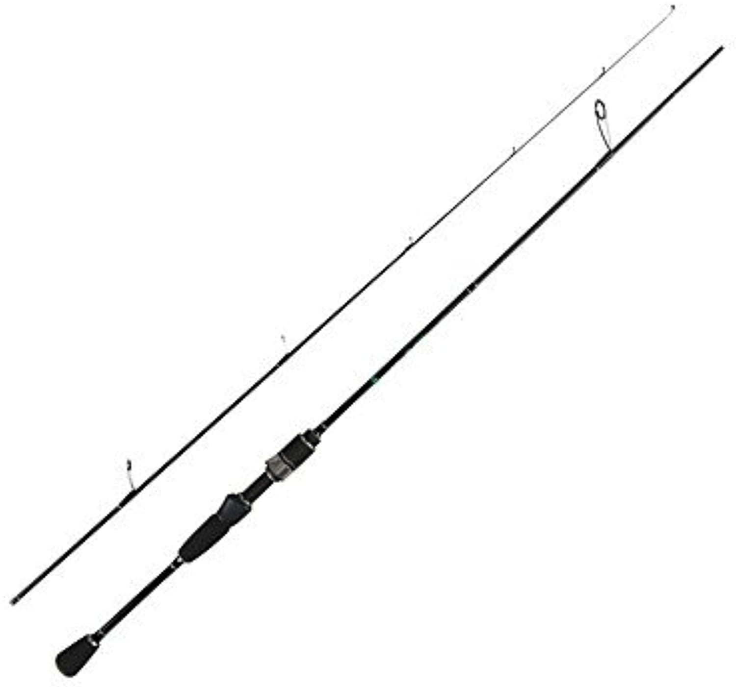 RTS UL Fishing Rod 0.6-6g Test Fast Action 1.68m Spinning Rod for Light Jigging Trout Rod with Solid tip 2 Sections Carbon Rod