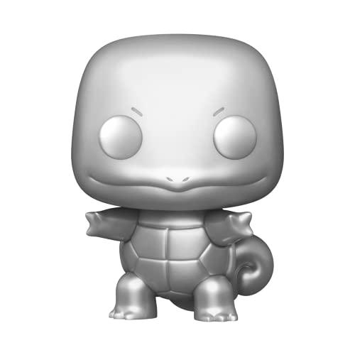 Funko Pop! Pokemon pre-orders on Amazon  Squirtle Silver Metallic  Piedgeotto…