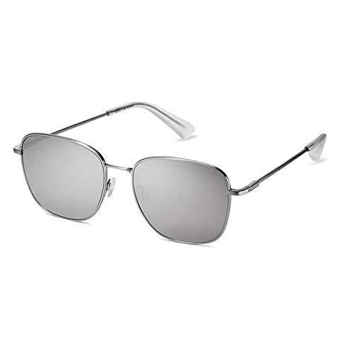 MVMT Outlaw   Non-Polarized Women's & Men's Rectangular Sunglasses   Mirror Silver/Silver