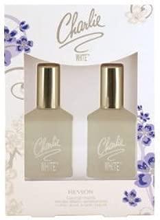 CHARLIE WHITE by Revlon Gift Set ~ 2 1.3 oz Colonge Spray for Women